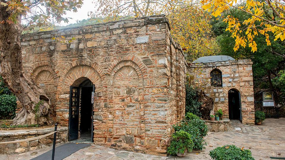 Casa da Virgem Maria recebe visitantes durante o Natal na Turquia
