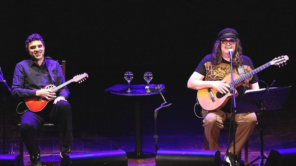 Show Moraes Moreira e Davi Moraes no Teatro Porto Seguro