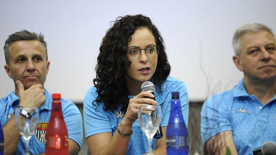 Ana Paula Oliveira é a nova presidente da Comissão Estadual de Arbitragem