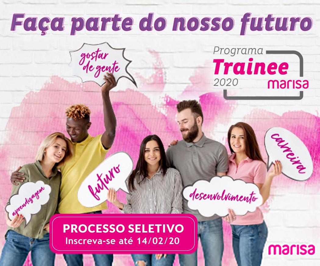 Marisa abre inscrições para o Programa de Trainee Corporativo 2020