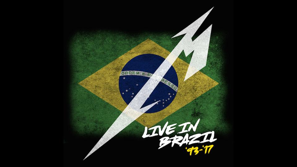 Metallica lança álbum ao vivo com gravações de seus shows no Brasil