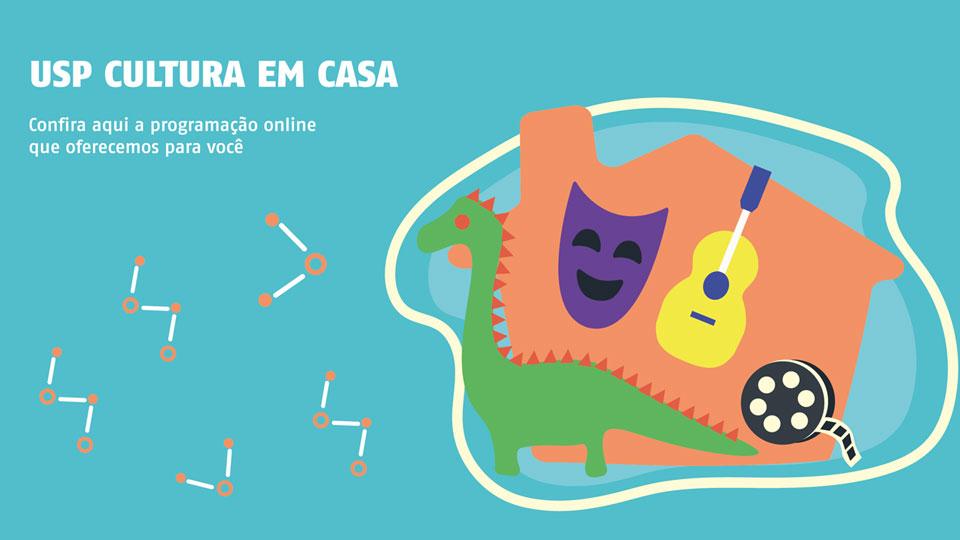 Site USP Cultura em Casa reúne conteúdos gratuitos de arte, cultura, ciência e serviços