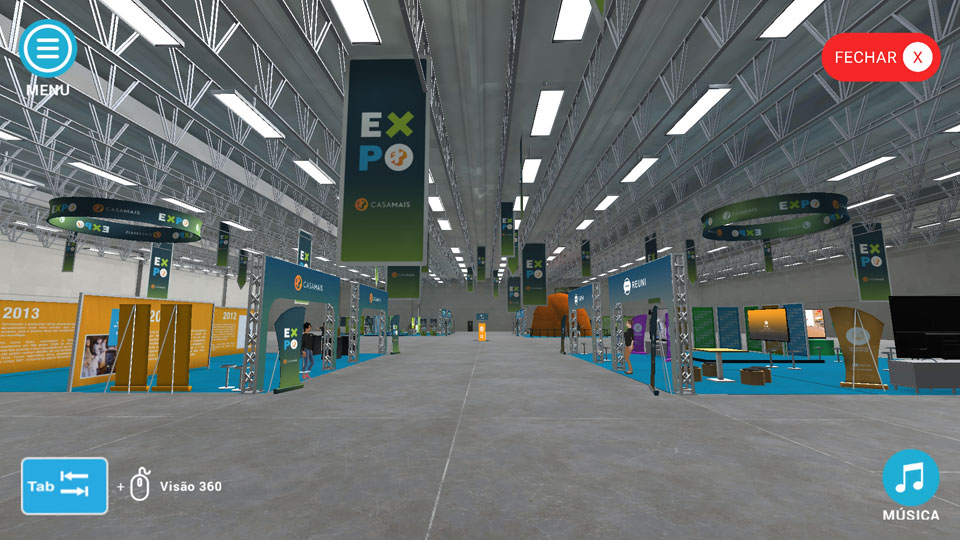 Empresário lança no mercado a primeira feira virtual 3D no Brasil