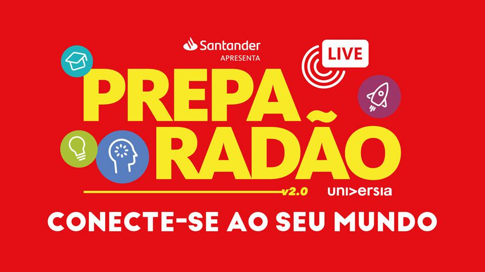 Preparadão Live terá sua segunda edição em 07 dezembro
