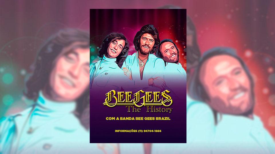 Bee Gees The History se apresenta em São Paulo no dia 21 de janeiro