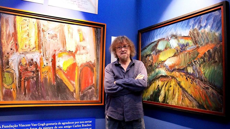 Pintor Carlos Bracher faz evento online em homenagem a Van Gogh