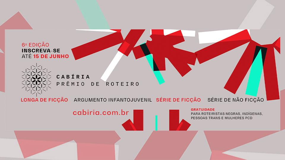 Cabíria Prêmio de Roteiro abre inscrições para sua sexta edição
