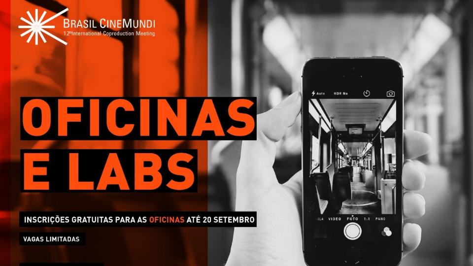 Inscrições abertas e gratuitas para Oficinas, Labs de Roteiro, Workshops e Masterclasses Internacionais da 15a Mostra CineBH e 12o Brasil CineMundi