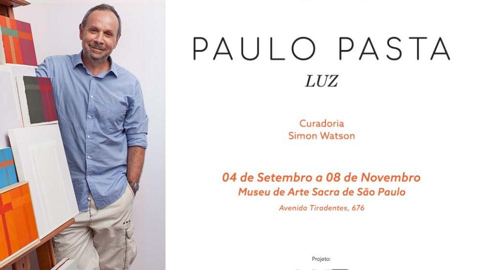 """Exposição """"Paulo Pasta: LUZ"""" no Museu de Arte Sacra de São Paulo"""