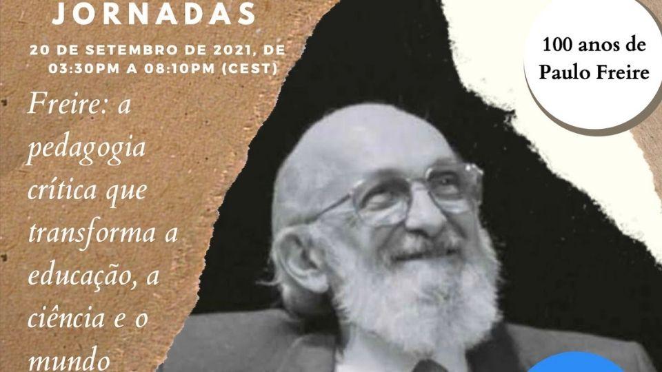 Jornada Internacional celebra centenário de Paulo Freire