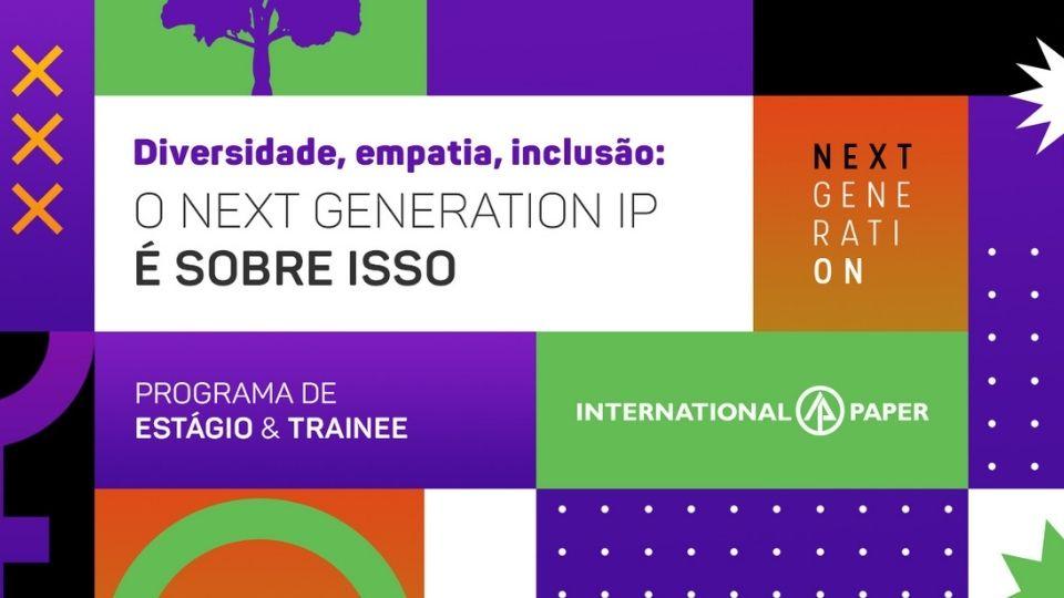 Inscrições para programa de estágio e trainee master da International Paper terminam dia 26/09